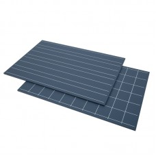 Green Board With Double Lines And Squares 2 Pcs