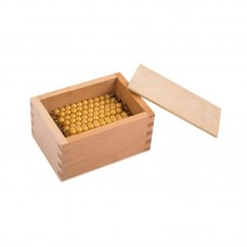 45 Golden Bead Bars Of 10 Withbox