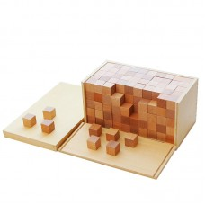 Montessori Volume Box With 250 Cubes