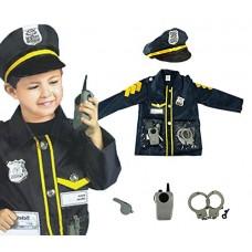 Policeman Costume Age 3-6