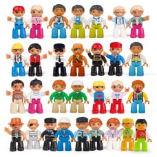 Compatible LEGO DUPLO Community People Set