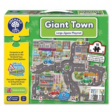 Giant Road System Jigsaws Giant Town Jigsaw Puzzle