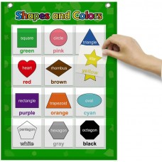 Shapes and Colors Pocket Chart