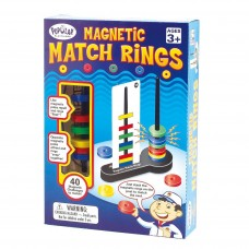 Popular Playthings Magnetic Match Rings Game