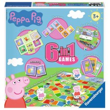 Peppa Pig 6-in-1 Games