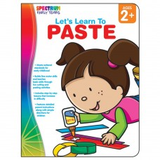 Let's Learn to Paste Workbook Grade Toddler-PK Paperback