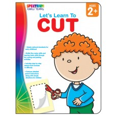 Let's Learn to Cut Workbook Grade Toddler-PK Paperback