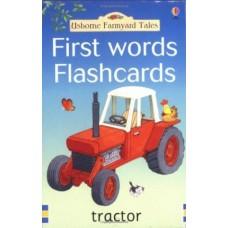 Usborne Farmyard Tales First Words Flashcards