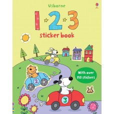 Usborne 123 Sticker Books