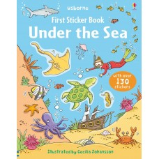 Usborne Under The Sea Sticker Book