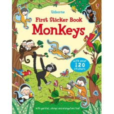 Usborne Monkeys Sticker Books
