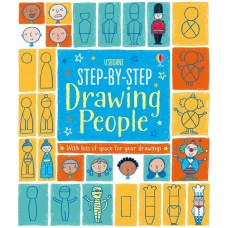 Step-By-Step Drawing People Age 4+