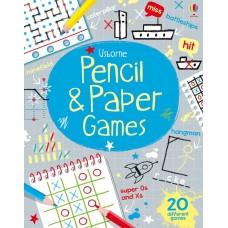 Usborne Pencil And Paper Games