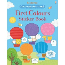 Usborne Get Ready For School First Colours Sticker Book