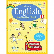 Usborne English Activity Pack - 4In1 Mini English Learning Sticker Books In A Pack