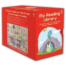 Usborne My Reading Library 50-Book Paperback Boxed Set Ages 4+