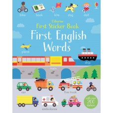 Usborne First English Words Sticker Books