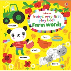 Usborne Baby's Very First Word Play Book Farm Words