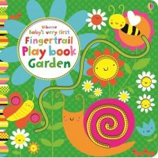 Usborne Baby's Very First Fingertrail Play Book Garden