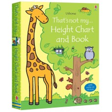 Usborne That's Not My Height Chart And Book Boxed Set