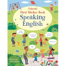 Usborne Speaking English Sticker Books