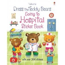 Usborne Dress The Teddy Bears Sticker Book Going To The Hospital