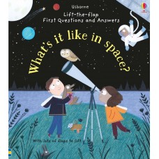 Usborne Lift-The-Flap First Questions And Answers What's It Like In Space?