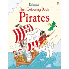 Usborne Pirates Colouring Books