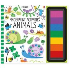 Usborne Fingerprint Activities Animals