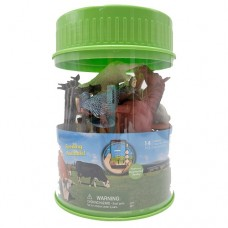 Wenno Farm Animals 14-piece Play Set